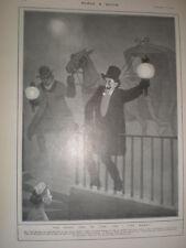 The Foggy Side of Life Do I Live Here Tom Browne cartoon 1901 old print London