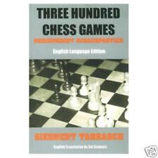 Three Hundred Chess Games by Seigbert Tarrasch