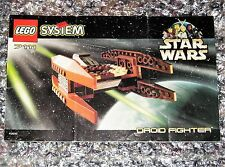 Star Wars Lego Instruction Booklet 7111 Droid Fighter Instructions Book
