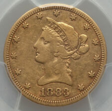 Rare 1883-Cc $10 Gold Pcgs F15 Carson City eagle Mintage only 12,000