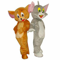 Halloween Tom&Jerry Mascot Costume Party Suits Pageant Dress Adult Outfit Parade