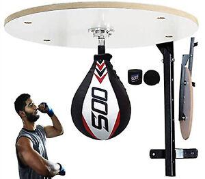 Boxing Iron Wall Mounted Speedball Platform Rack Punching Ball Hanging Frame