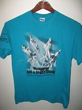 Melbourne Florida Airport USA 2014 Air And Space Show Volunteer USAF T Shirt Med