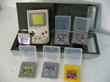 Nintendo Game Boy Classic Konsole - Grau (DMG-01) mit 6 Spielen