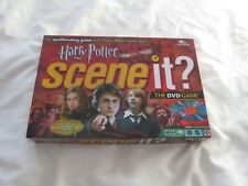 2005 HARRY POTTER SCENE IT THE DVD GAME MATTEL W/ 6 COLLECTIBLE METAL TOKENS