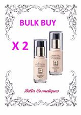 BULK 2 X Max Factor Facefinity All Day Flawless 3 in 1 Foundation 47 Nude