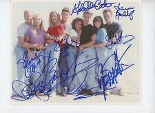 BEVERLY HILLS 90210 CAST Original (1990-2000) 9 sigs SIGNED 8x10 PHOTO PSA LOA