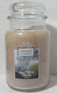 Yankee Candle Large Jar Candle 110-150 hrs 22 oz ALPINE MORNING Mountain Holiday