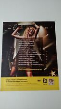 TAYLOR SWIFT BEST BUY AD. RARE ORIGINAL PRINT PROMO POSTER AD