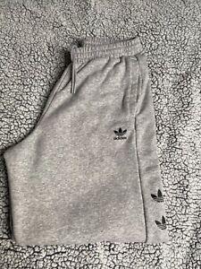 Adidas originals repeat trefoil fleece women's joggers size 12 100% genuine worn