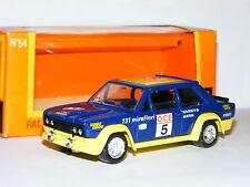 Solido GAM2 #54 Fiat 131 Mirafiori 1976 Rally Morocco #5 1/43 Boxed