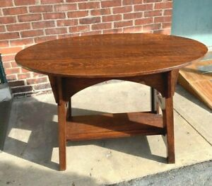 Antique Limbert (?) Oval Table #146