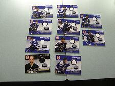 WBS Penguins 10-11 Jersey Card Lot Joe Vitale Alex Goligoski Pittsburgh Nice