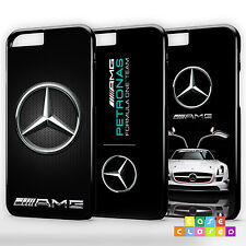 MERCEDES BENZ AMG CARBON LOGO SPORTS CAR For iPhone Samsung Phone Case Cover