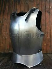 Medieval Halloween Armor Steel Cuirass (Breastplate) 2 parts Costume Cosplay