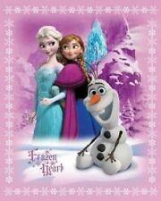 "Disney's ""Frozen Hearts"" Fleece Blanket 42"" X 54"" - Frozen Movie Northwest Co."