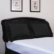 Ashton Ruffled Pillow Sham, Brand Name Bedding, High Thread Count, Solid Colors