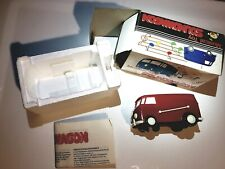 1970's Musical Toy SOUNDWAGON VW Bus record player, new in box with directions