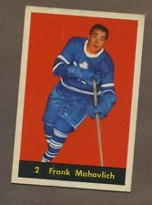 1960-61 Parkhurst Hockey No. 2 Maple Leafs Frank Mahovlich Ex-Mt
