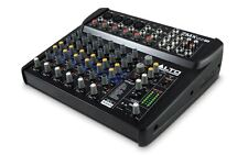 Alto ZMX122FX 8 Channel Mixing Desk Mixer DJ Vocalist Stage Band Recording NEW