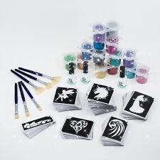Glitzer tattoo Set Kinderfest 324 teilig XL Glitter Tattoo Set Geschenke Set