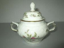 Rosenthal Classic Rose Form Sanssouci Moosrose Goldrand Zuckerdose - 12cm