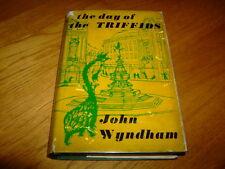 JOHN WYNDHAM-DAY OF THE TRIFFIDS-4th Imp/1ST-1960-HB-G-MICHAEL JOSEPH-VERY RARE