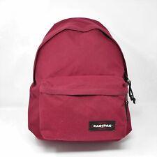 Eastpak Burgundy Backpack with Discreet Side Tablet Compartment EK89835N