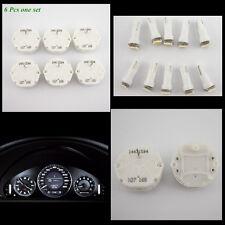 6 x GM GMC Stepper Motor Speedometer Gauge Repair Kit Instrument Cluster+10 LEDs