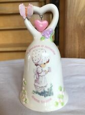 Precious Moments Porcelain Bell A Grandma is Someone Special to Love
