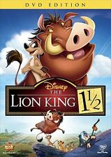 The Lion King 1 1/2 (DVD, 2012, Special Edition)