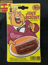 Practical Jokes - Imitation Bourbon biscuit. Fake. Joke