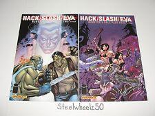 Hack Slash Eva Monster's Ball #2 & 4 Comic Lot Dynamite Image Tim Seeley Razek