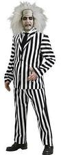 Beetlejuice Deluxe Adult Costume Halloween Party Fancy Dress Standard