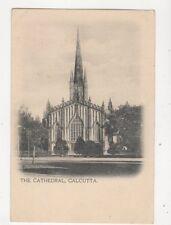 The Cathedral Calcutta India Vintage U/B Postcard 365b
