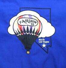 Hot Air Balloon Fairshow 93 North Las Vegas Made in USA Vintage Jacket XXL