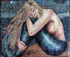 Mosaic Mermaid Charm Art Mosaic Designs Marine Life&Nautical Mosaic Tile
