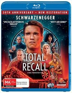 Total Recall | Classics Remastered Blu-ray