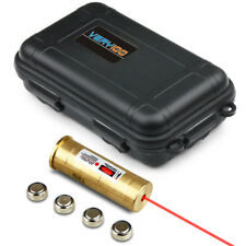 VERY100 Tactical 12 Gauge Red Laser Cartridge Boresighter Sight Waterproof Box