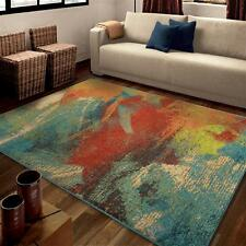 "5x8 (5'3"" x 7'6"") Contemporary Modern Artistic Abstract Area Rug"