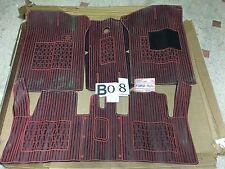 B08 - KIT SET TAPPETI IN GOMMA - FORD FIESTA  - MODELLO SUPER