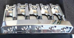 Bass Bridge SCHALLER Made in Germany 3D-5 Bass Brücke in Chrom
