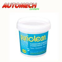 Puriclean Caravan Motorhome Water System Tank Treatment Cleaner 100g