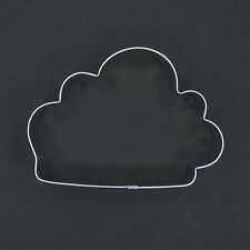 """CLOUD 4"""" METAL COOKIE CUTTER FONDANT STENCIL OUTDOORS CLOUDY PARTY FAVOR NEW"""