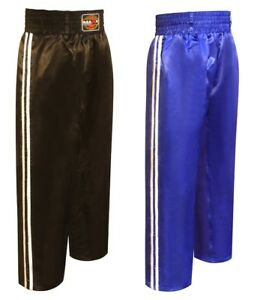 Kickboxing Trouser Mix Martial Arts Clothing Training Satin Traditional Boxing