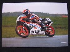 Photo Marlboro Honda 125 1991 #28 Ralf Waldmann (GER) Dutch TT Assen #2