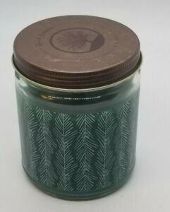 Wood Essence 5.7oz w/ Woodwick Ambiance GREEN FOREST PINE Scent CANDLE NEW
