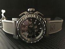 Zodiac ZMX Men's 8516 Racer Analog Display Swiss Quartz All Black Watch AWESOME!