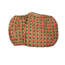 Male Dog Diaper - Made in USA - Red and Brown Flowers on Yellow Washable Dog ...