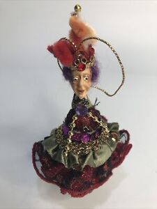 Christmas Ornament Decor Jester Fairy Elf Katherines Collection Mark Roberts ?
